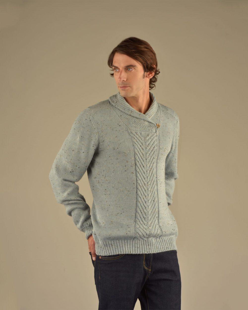 Pull CABLE en bébé alpaga, en lin et en laine donégal - écharpes, bonnets et pulls en alpaga. Fine Alpaca, fine laine et coton du Pérou, vêtements en fibres naturelles.