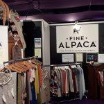 Stand Fine Alpaca vêtements & accessoires en bébé alpaga Foire de Montluçon 2018